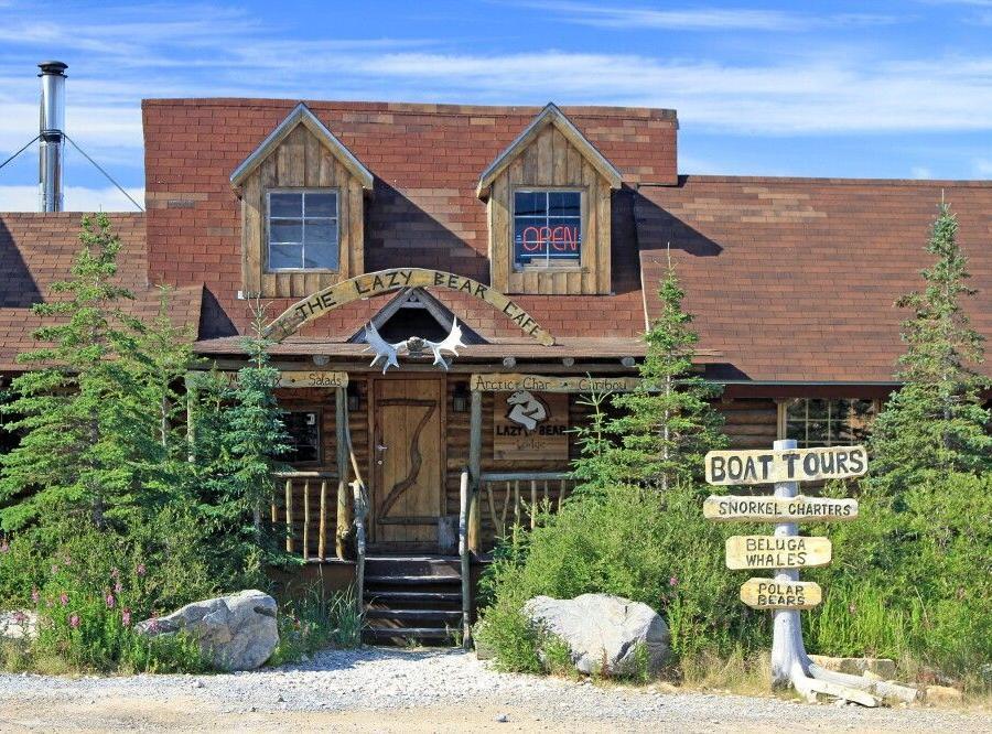 Reise in Kanada, Lazy Bear Lodge