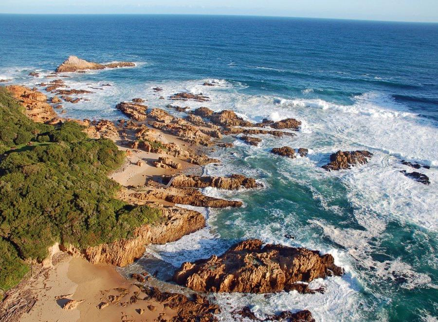 Reise in Südafrika, Küstenlandschaft an der Garden Route