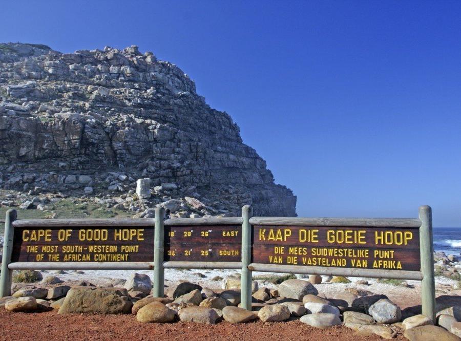 Reise in Südafrika, Kap der guten Hoffnung