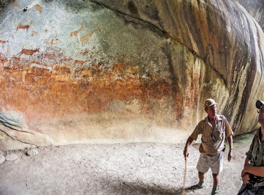 Reise in Malawi, Entlang der Handelsroute Campingsafari