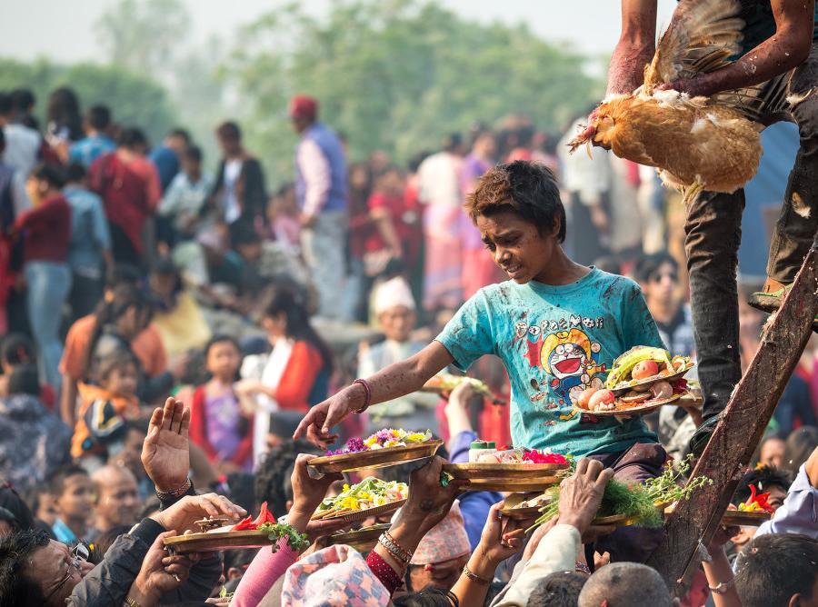 Reise in Nepal, Sadhu