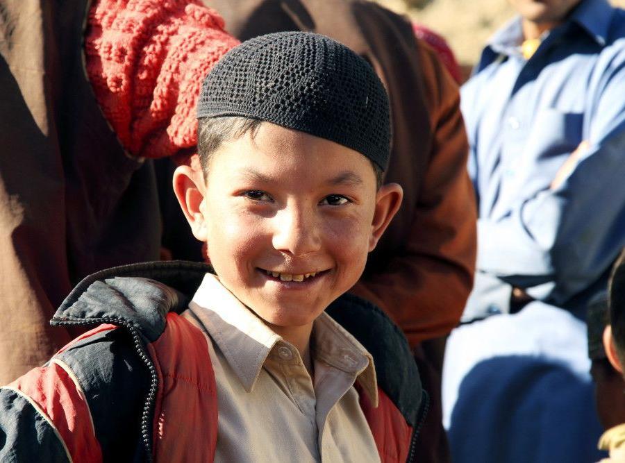 Reise in Pakistan, Die Wazir-Khan-Moschee liegt im Herzen des Bazars von Lahore.