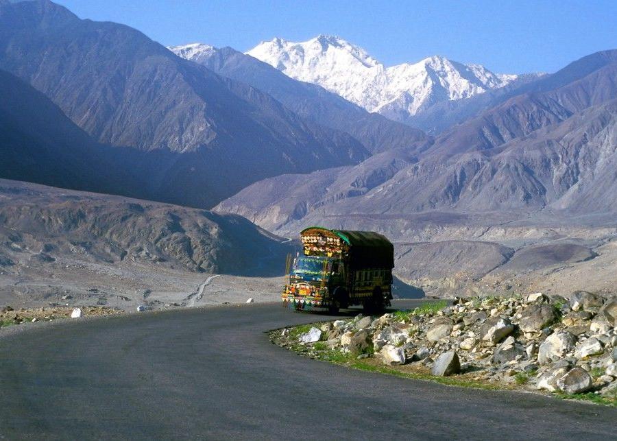 Reise in Pakistan, Das Fort Baltit war über Jahrhunderte der Sitz des Mir von Hunza.