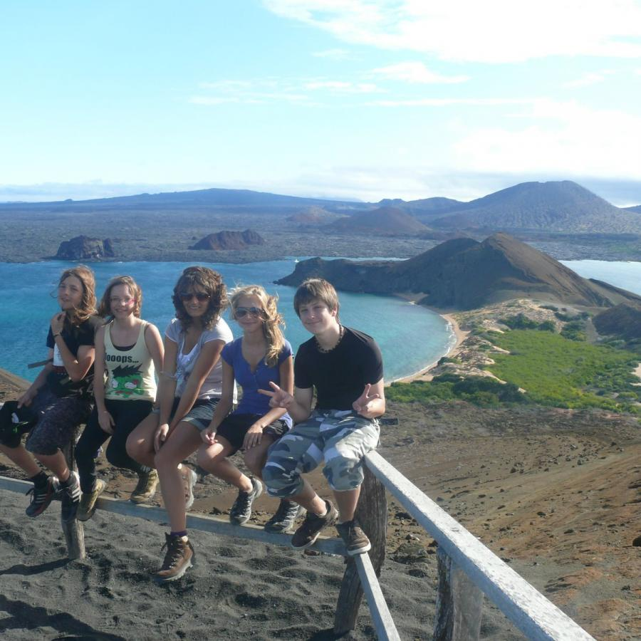 Reise in Ecuador, Galapagos for family
