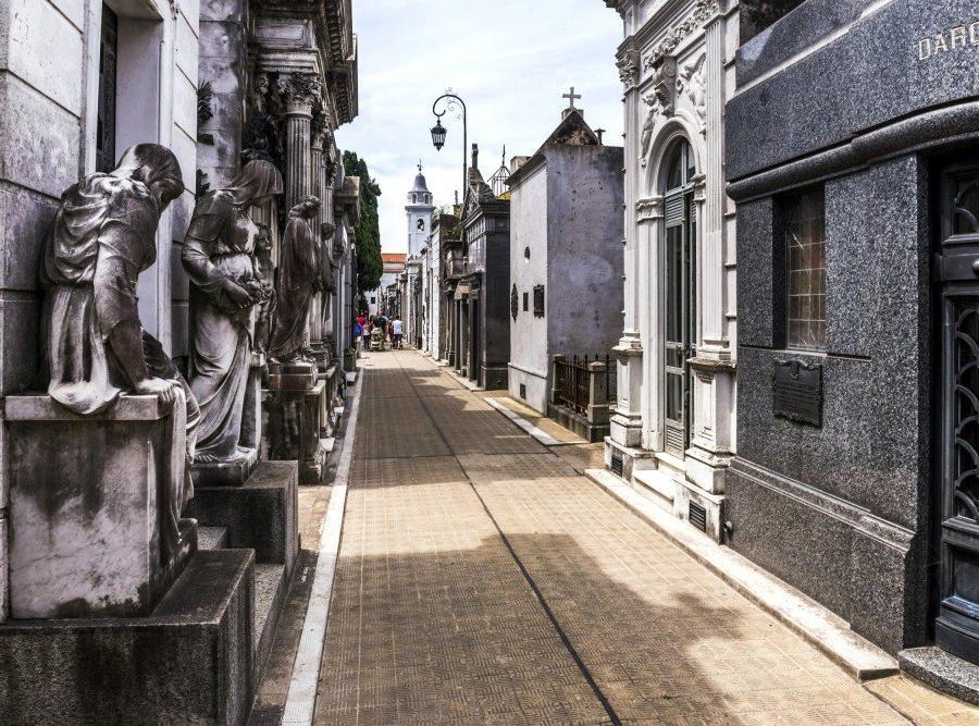 Reise in Argentinien, Friedhof La Recoleta in Buenos Aires