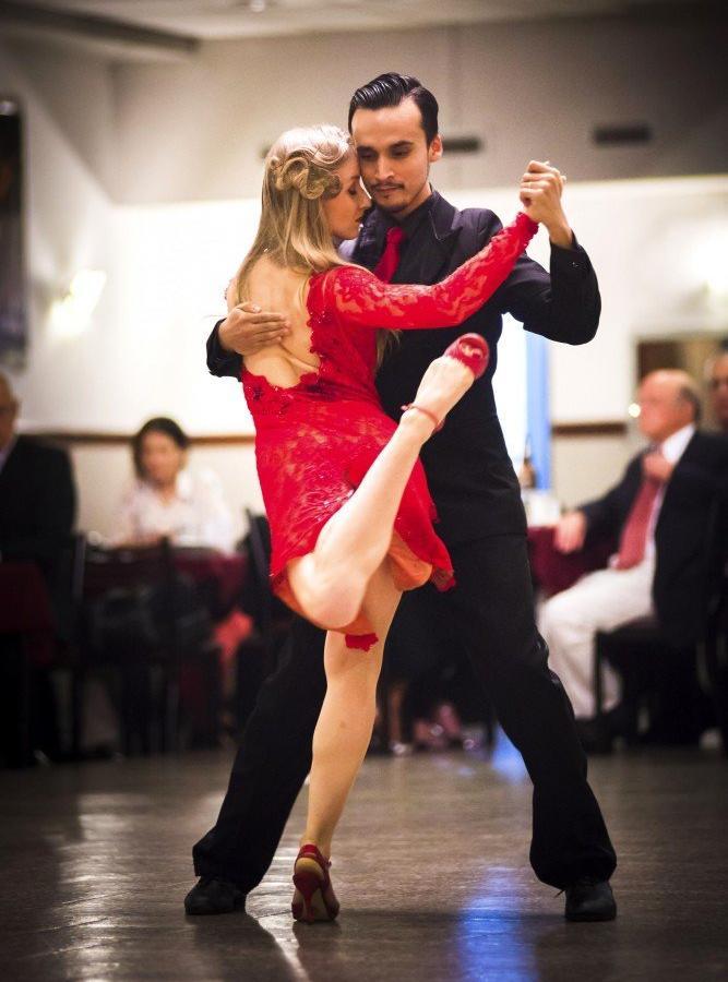 Reise in Argentinien, Tangovorführung in Buenos Aires