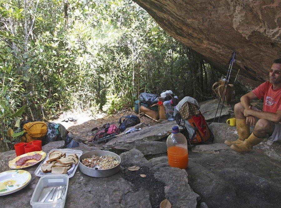 Reise in Venezuela, Unterwegs in der Tafelbergregion Venezuelas