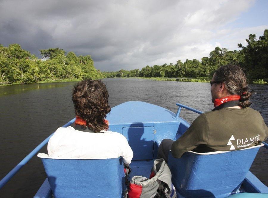 Reise in Venezuela, Mit DIAMIR unterwegs im Orinocodelta