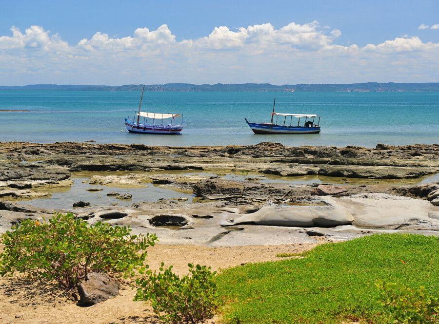 Reise in Brasilien, Strand in Salvador