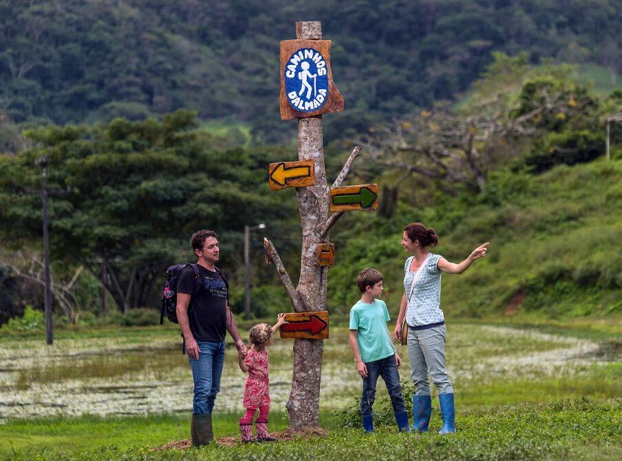 Reise in Brasilien, Idyllische Wanderwege in Almada