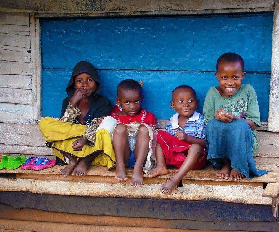 Reise in Demokratische Republik Kongo, Kinder in Kahuzi Biega Gegend