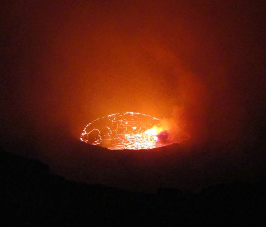 Reise in Demokratische Republik Kongo, Der Vulkan Nyiragongo in den Virunga-Bergen