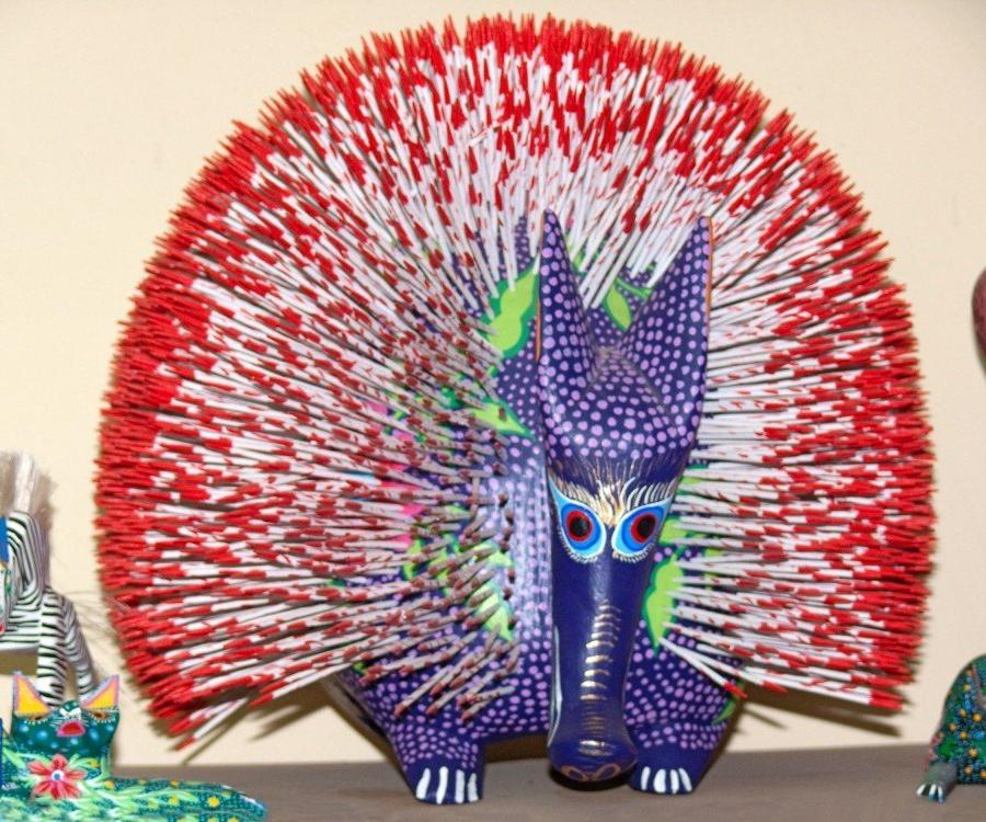 Reise in Mexiko, Alebrijes