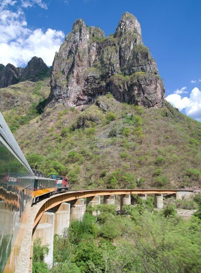 Reise in Mexiko, Impressionen Zugfahrt Chepe