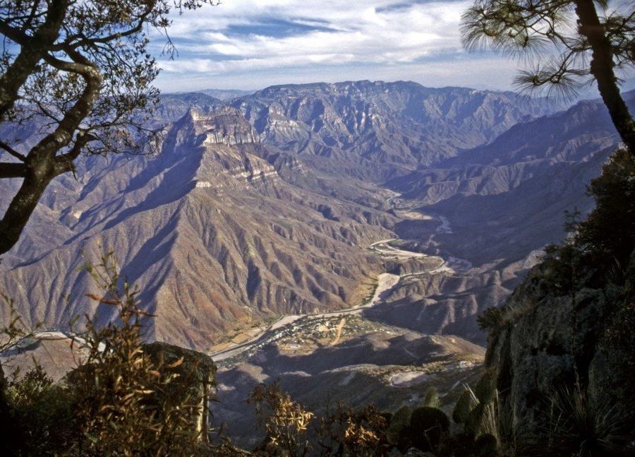 Reise in Mexiko, Aussicht Cerro