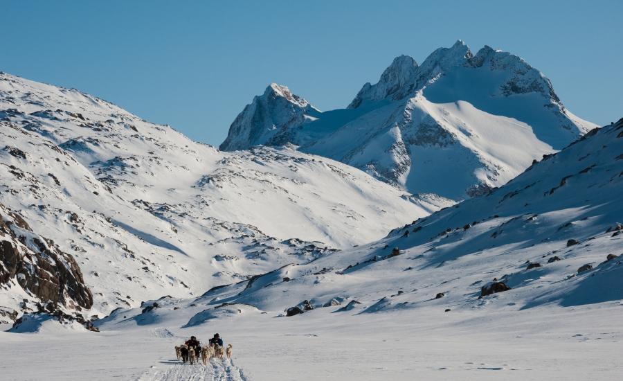Reise in Grönland, Grönland: Schneeschuh-Wandern im Wintertraum der Arktis (11 Tage Sonderreise mit Grönland-Spezialist Dennis Hartke)