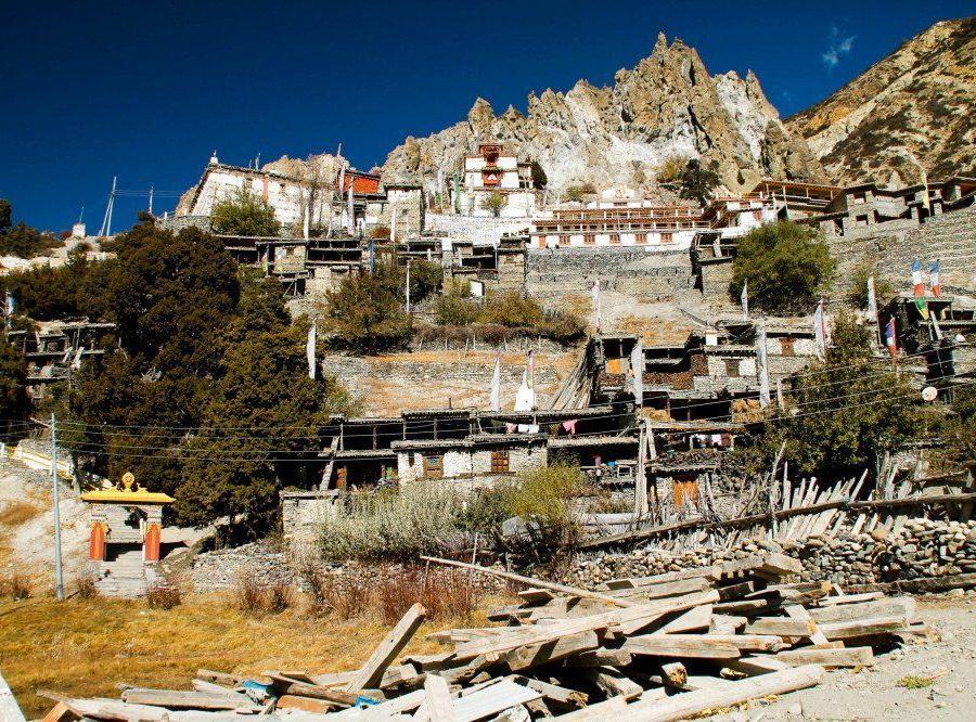 Reise in Nepal, kleiner Nepali