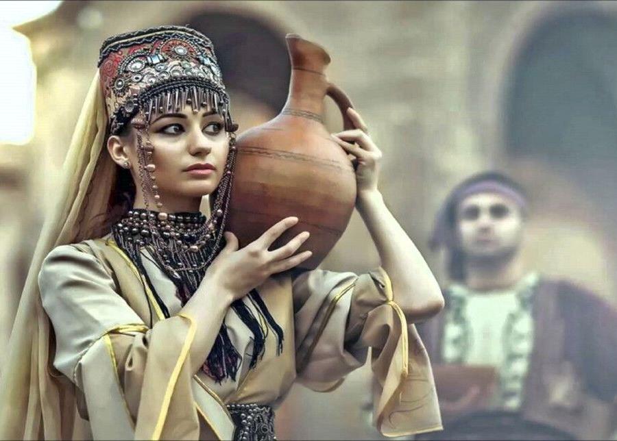 Reise in Armenien, Armenische Tracht