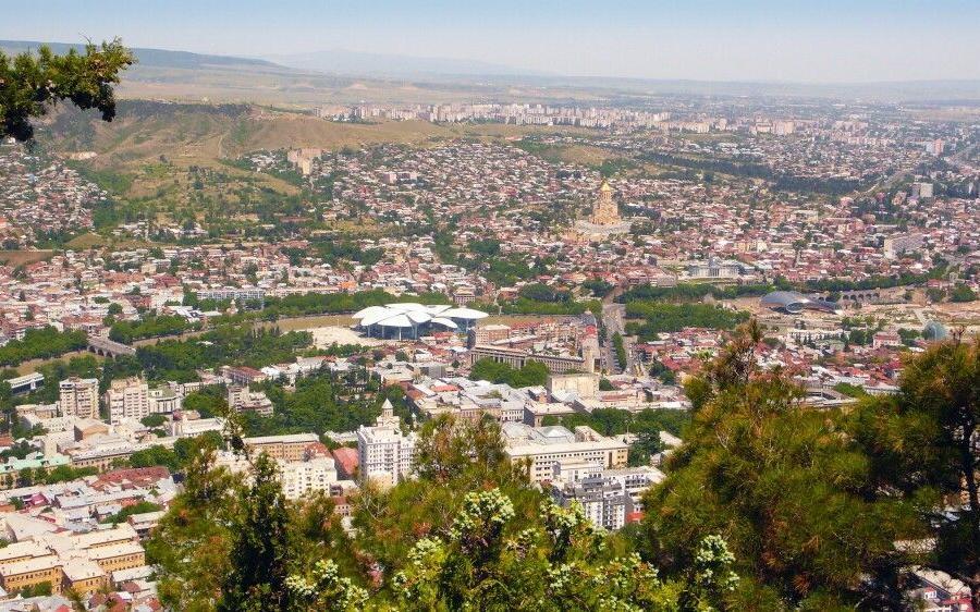 Reise in Armenien, Tiflis