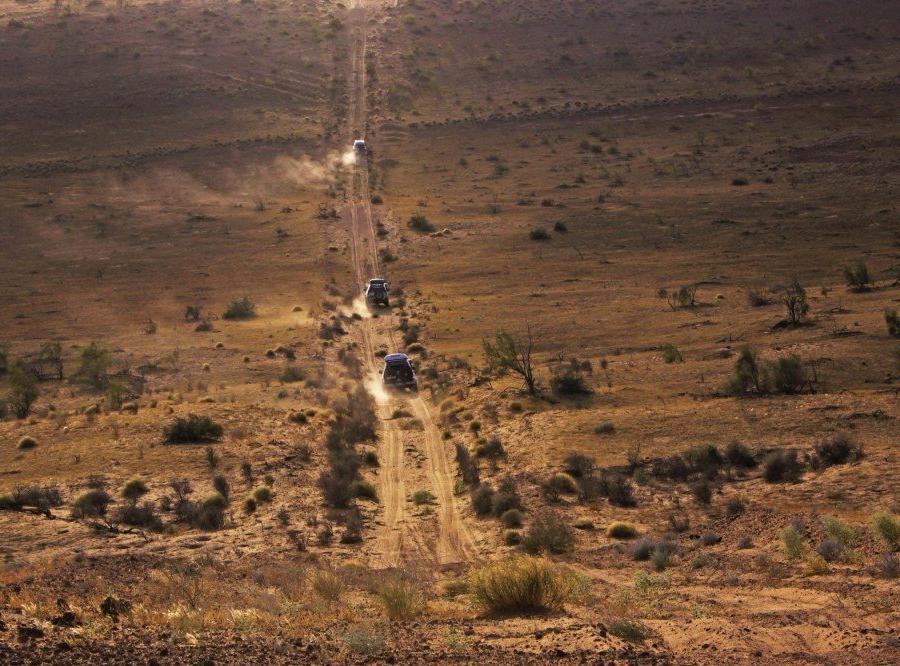 Reise in Turkmenistan, Lagerfeuer in der Wüste