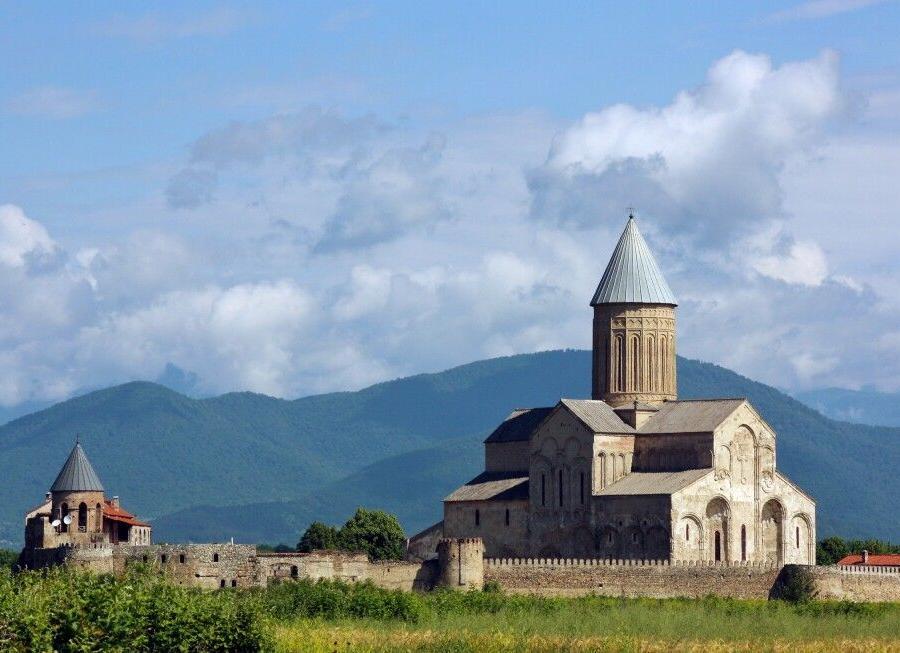 Reise in Georgien, Omalo in Tuschetien