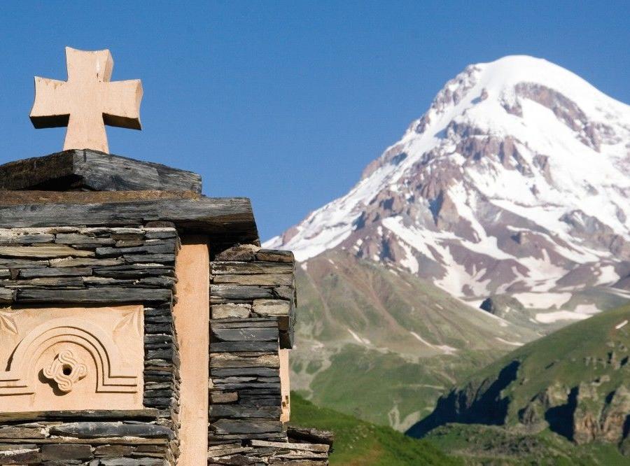 Reise in Georgien, Berg Heil am Kasbek