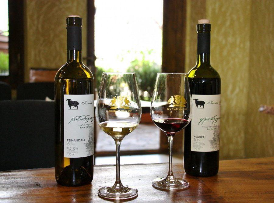 Reise in Georgien, Weinverkostung Kvareli