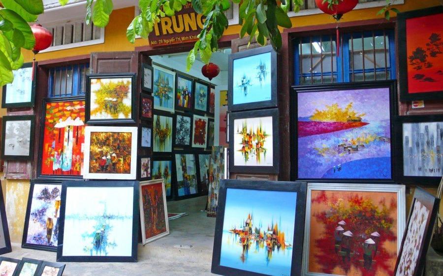 Reise in Vietnam, in der malerischen Innenstadt von Hoi An