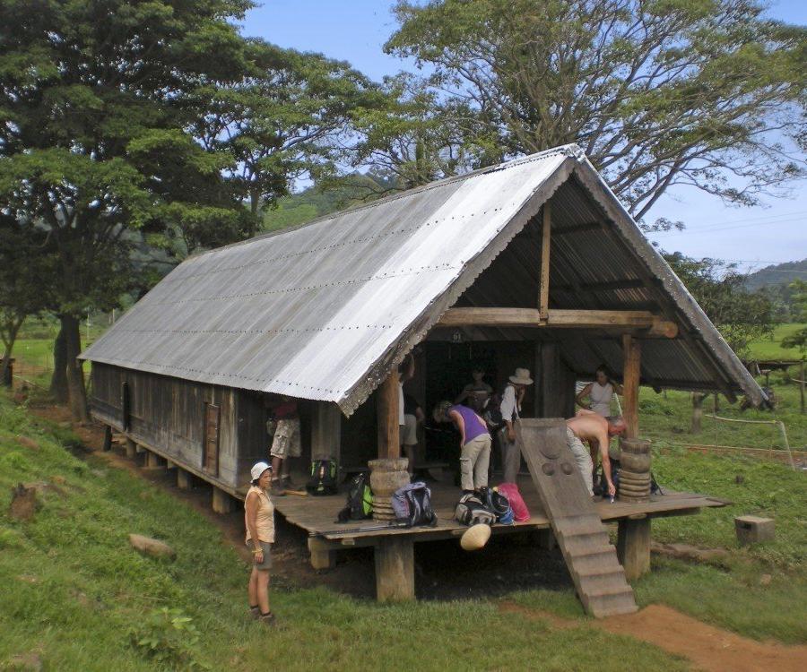 Reise in Vietnam, einfaches, aber sehr spezielles Homestay während der Wanderetappe in Nam Ka