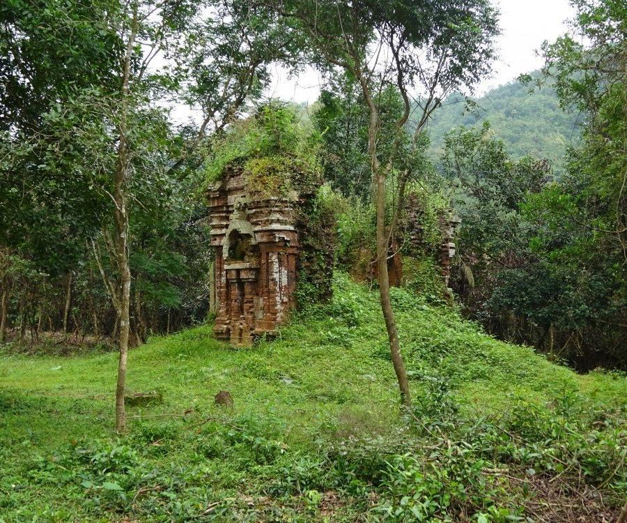 Reise in Vietnam, Die berühmte Tempelstadt My Son in Zentralvietnam