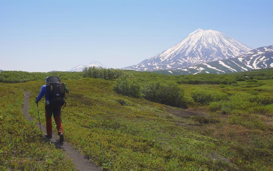 Reise in Russland, Im grünen Herz Kamtschatkas Trekkingreise