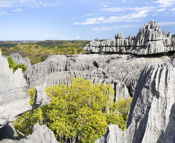Reise in Madagaskar, Naturerscheinung im Tsingy-Nationalpark