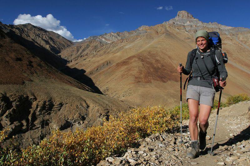 Reise in Indien, Wanderung im Araveli-Gebirge nahe Udaipur in Rajasthan