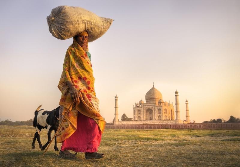 Reise in Indien, Das Taj Mahal in Agra