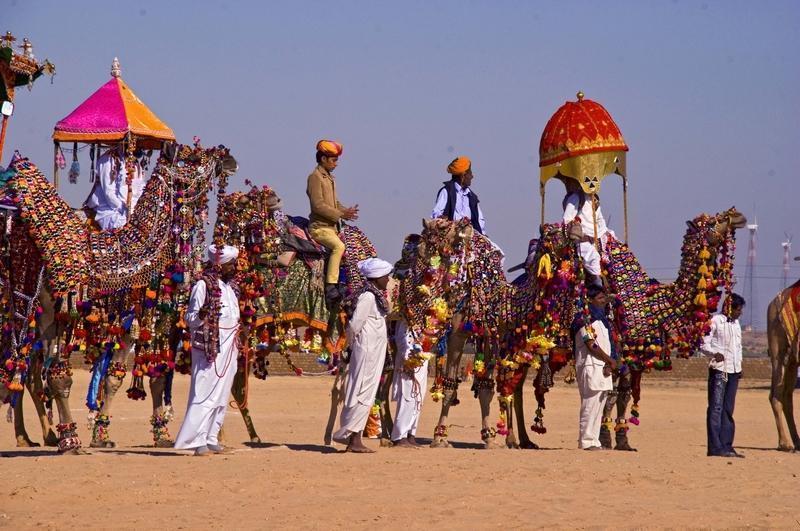 Reise in Indien, Abschied vom Wüstenstaat Rajasthan