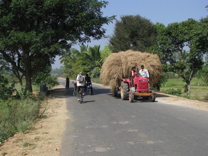Reise in Indien, Auf dem Fahrrad durch Indien
