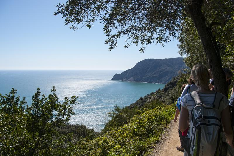 Reise in Italien, Cinque Terre - Veranzza, beeindruckende Landschaft, Wandern