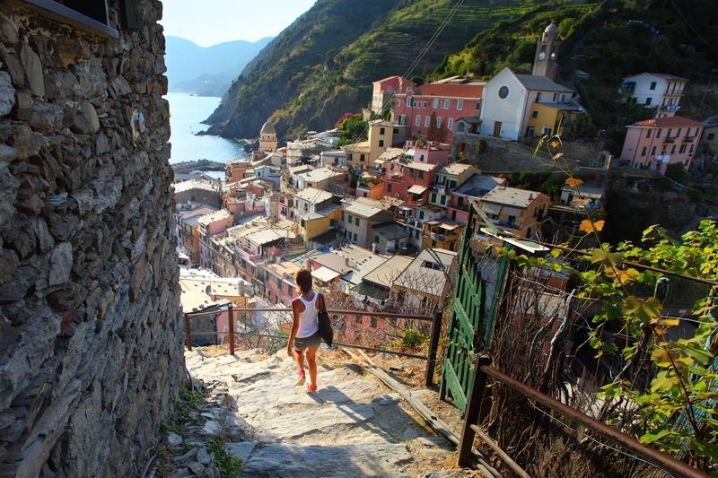 Reise in Italien, Italien - Unterwegs in der Cinque Terre