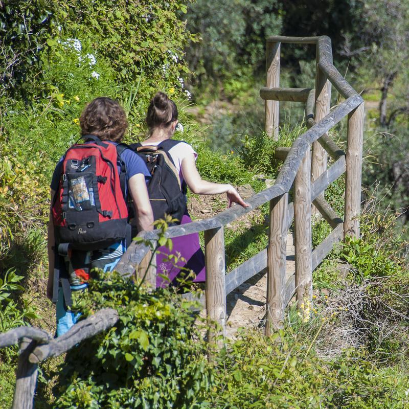Reise in Italien, Italien - Cinque Terre - Das Hinterland von Levanto
