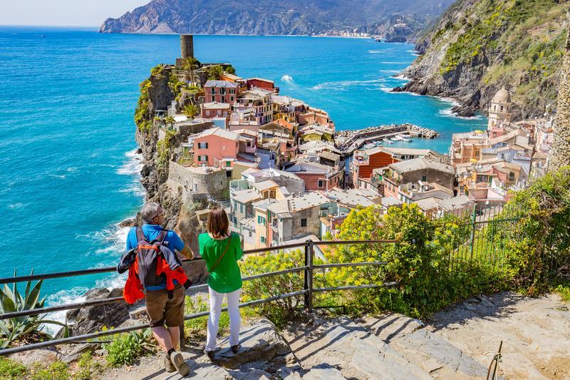 Reise in Italien, Italien - Cinque Terre - Genua