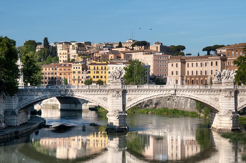 Reise in Italien, St. Angelo Brücke