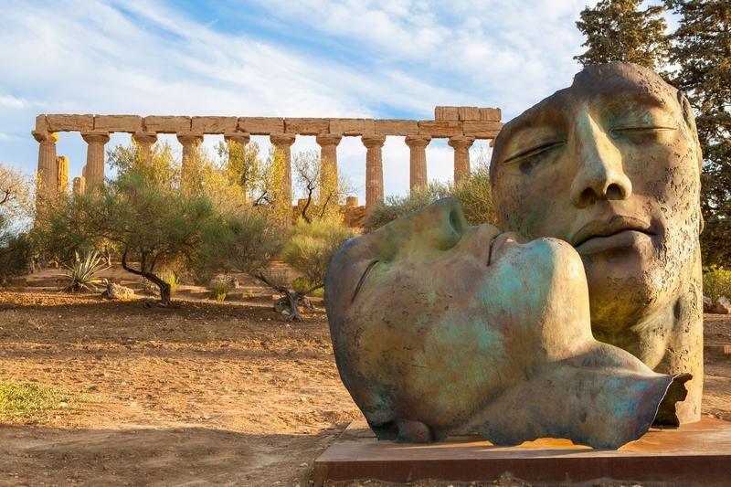 Reise in Italien, Tal der Tempel in Agrigent