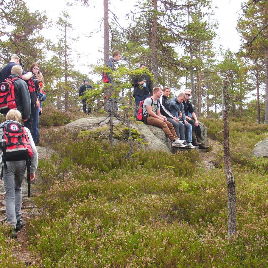 Reise in Schweden, Jugend-Outdoorcamp