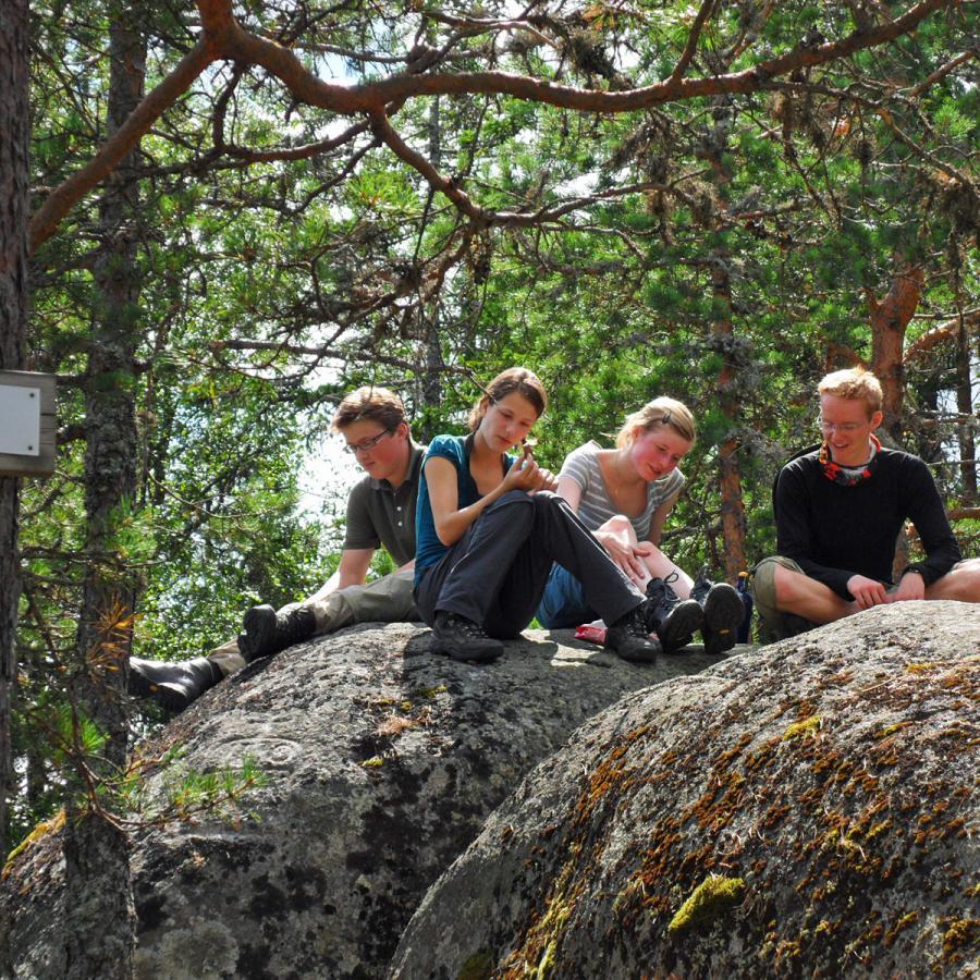 Reise in Norwegen, Jugend-Trekkingwoche