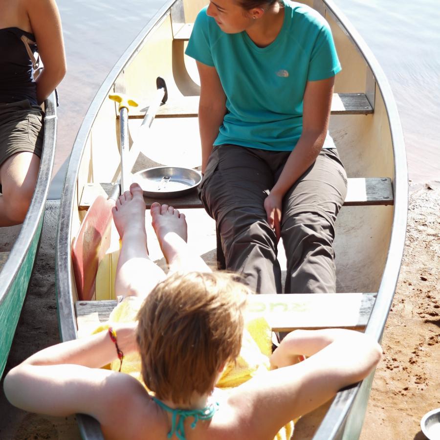 Reise in Schweden, Jugend-Wildniswoche Silverleden