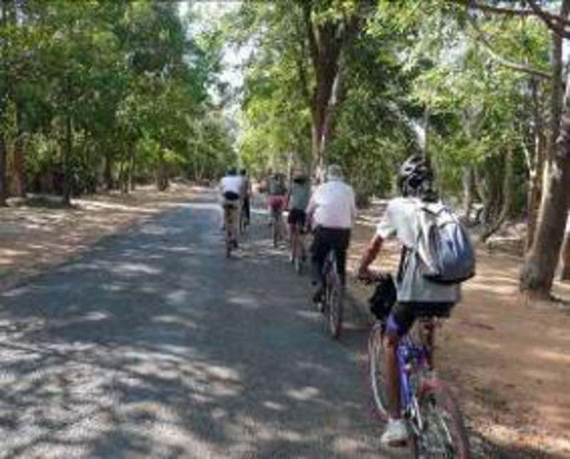 Reise in Kambodscha, Kambodscha - Radeln durchs Umland