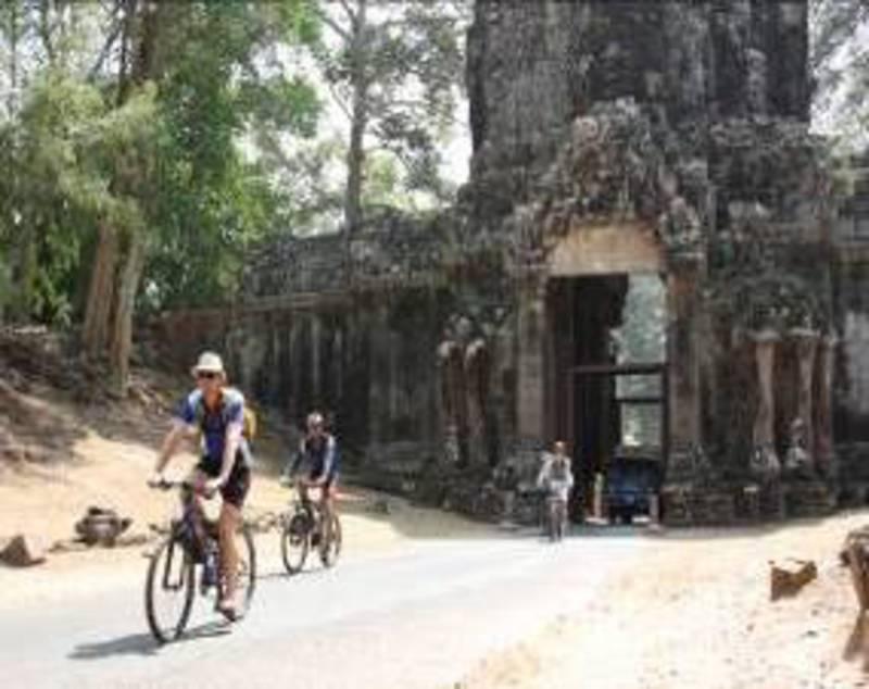 Reise in Kambodscha, Angkor - das Tempelareal erkunden