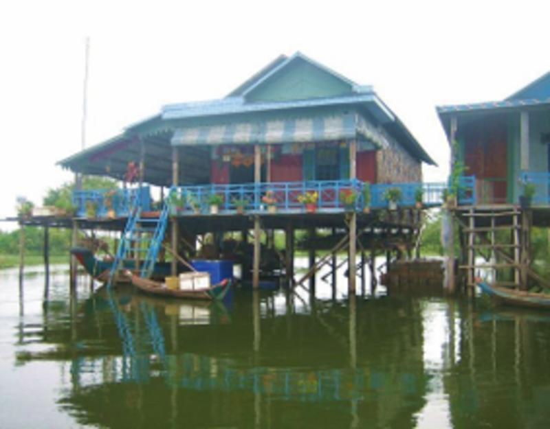 Reise in Kambodscha, Kambodscha - schwimmendes Dorf