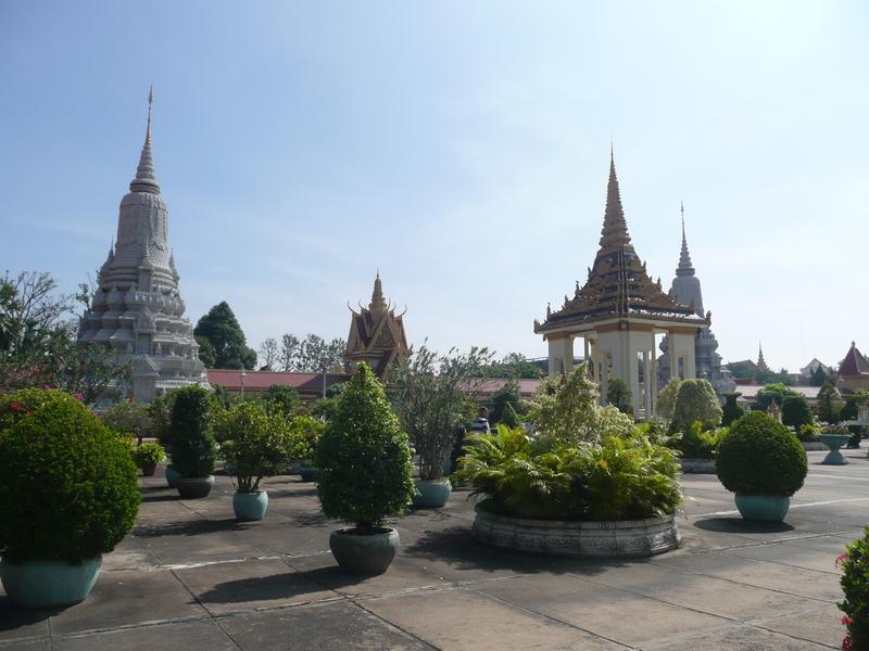 Reise in Kambodscha, Hauptstadt Phnom Penh
