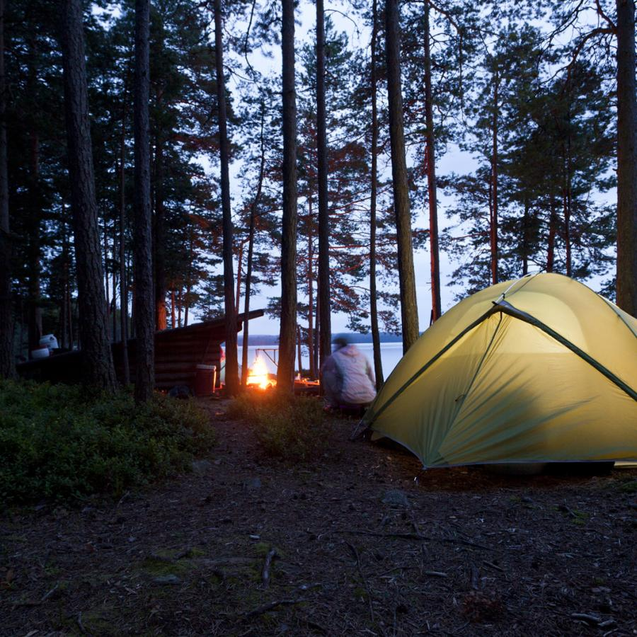 Reise in Schweden, Kanuwoche Värmland
